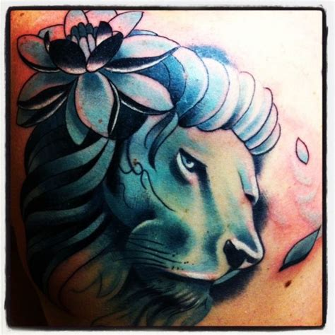 lotus tattoo with lion fresh tattoo ink lion lotus flower tattoos piercings