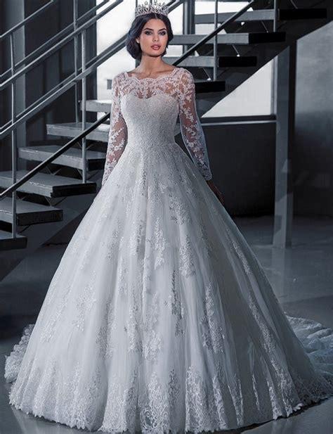Cgd 2in1 Grey Dress aliexpress buy vintage bridal gown sleeve lace wedding dresses princess