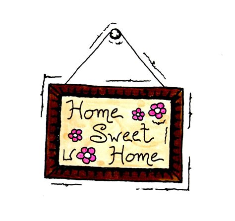 home sweet home clipart cliparts and others inspiration