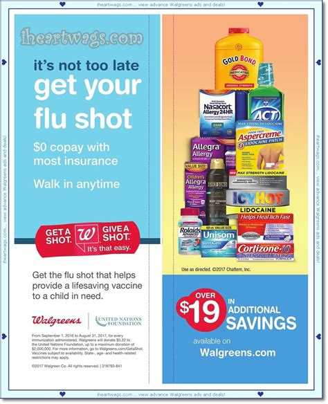 walgreens picture book i wags ad scans february 2017 coupon book 01 29 02 25