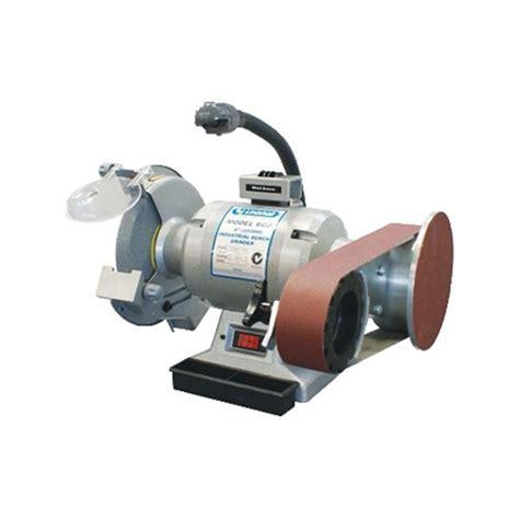 sanding disc for bench grinder bg8 915 linishall 8 quot bench grinder c w 915 belt disc