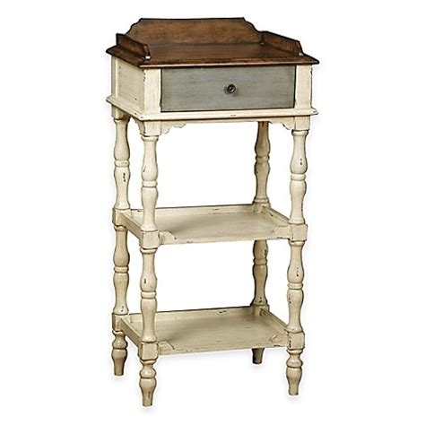 buy pulaski margaret accent table in cherry from bed bath beyond pulaski colbert accent table with drawer in white www
