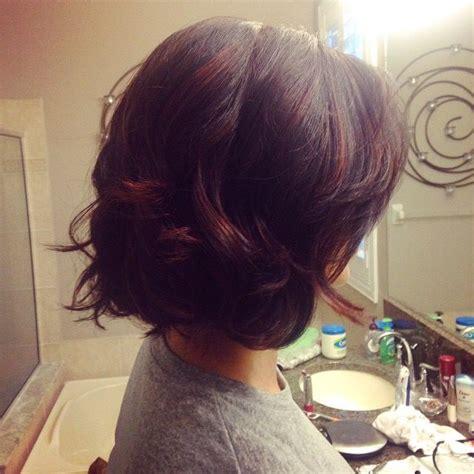 Cherry Hair Pictures Short Hair   cherry cola hair color short hair makeup and hair