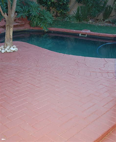 can you paint patio pavers can you paint concrete pavers