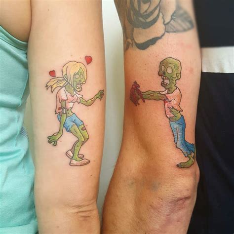 60 couple tattoos to keep the love forever alive