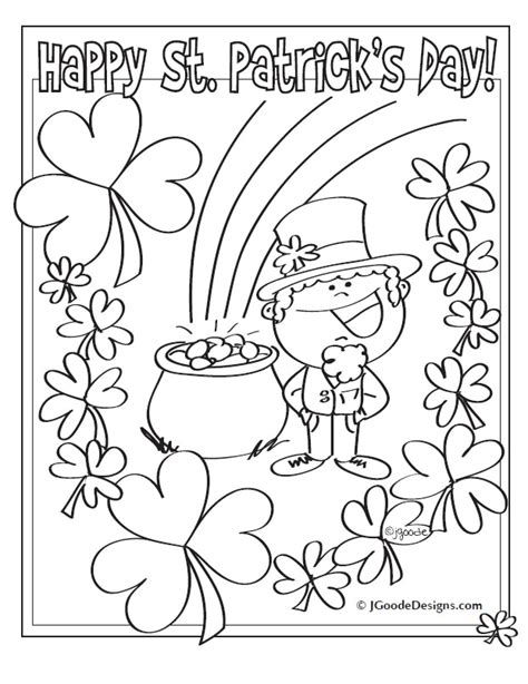 leprechaun coloring pages printable free printable st patricks day coloring pages az coloring pages