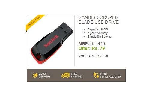 pen drive online deals india