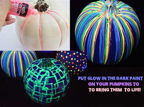 glow in the paint on pumpkins 10 easy and hacks glow in the