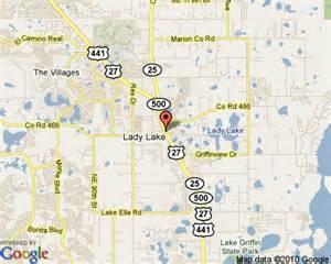 Lady Lake Florida Map by Lady Lake Florida