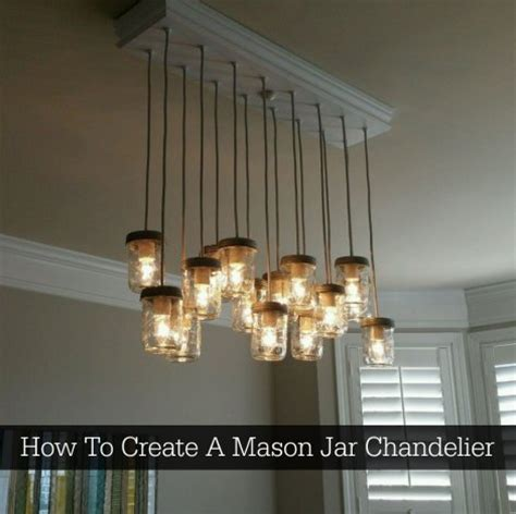 How To Create A Mason Jar Chandelier Homestead Survival How To Build A Jar Chandelier