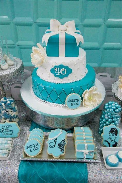 tiffany themed birthday party kara s party ideas tiffany co inspired birthday party