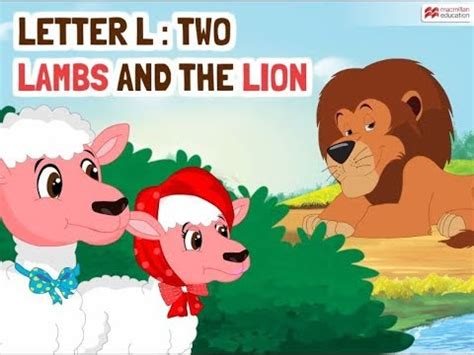 lambs and l alphabet stories letter l two lambs and the
