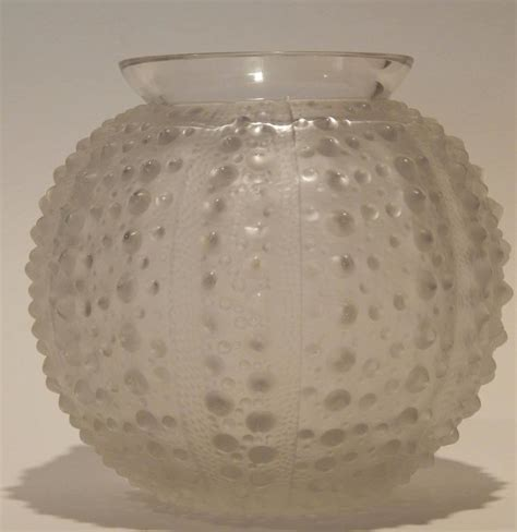 Sea Urchin Vase by R Lalique Quot Oursin Quot Or Sea Urchin Vase Circa 1935 For