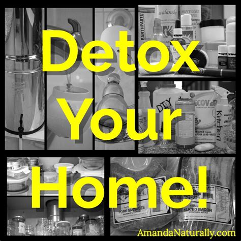 Detox Your Home Living by Detox Your Home Amanda Naturally
