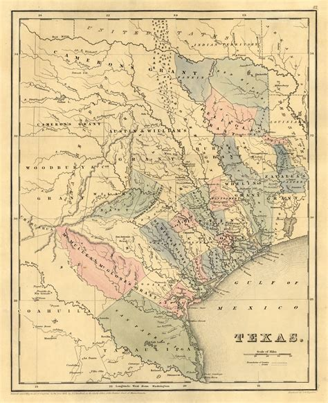 1800 texas map texas historical maps perry casta 241 eda map collection ut library