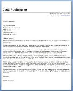 Child Social Worker Cover Letter by Cover Letters Cover Letter Exle And Letter Exle On