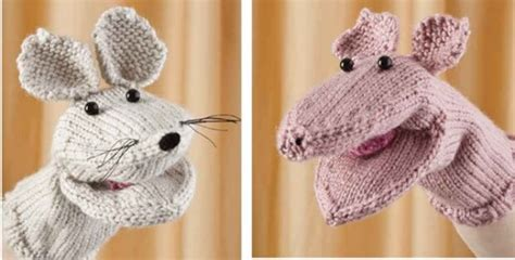 free knitting patterns finger puppets knitted puppets free knitting pattern
