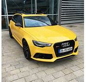 Audi RS6 Avant In Speed Yellow Speedgelb At Forum