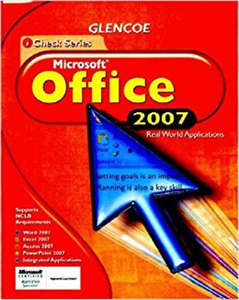 Microsoft Office Book by Icheck Microsoft Office 2007 Student Edition Icheck