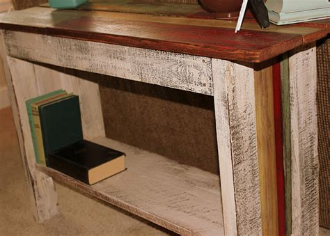beyond the picket fence scrappy sofa table