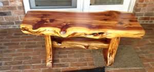 Cedar Bench Cedar Bench Collection Taylor Stump Furniture