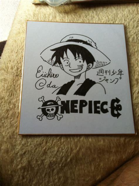 Home Sketch original drawing by eiichiro oda buy one piece