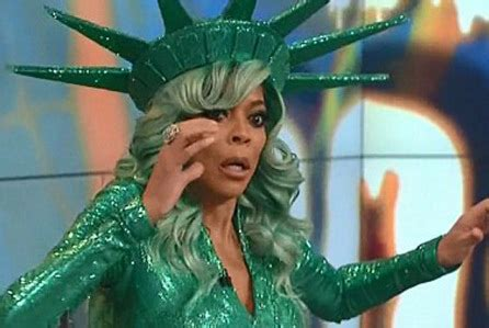 wendy williams faints on stage during her halloween show