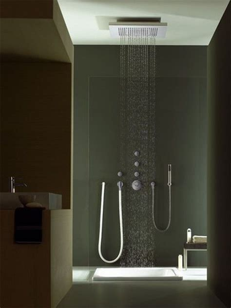 Rainshower Dusche by Big Shower From Dornbracht Freshome