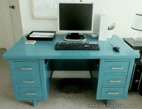 Desk Painting by Vintage Tanker Desk Makeover The Diy Homegirl