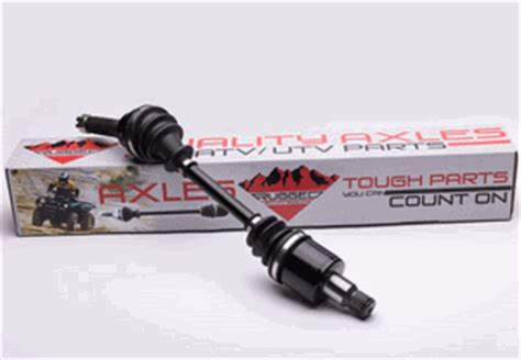 rugged trail suspension rugged oem replacement axles for arctic cat wildcat trail sport sidebysidestuff
