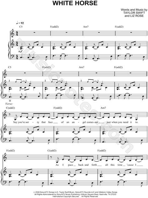 white inn lyrics quot white quot sheet in c major