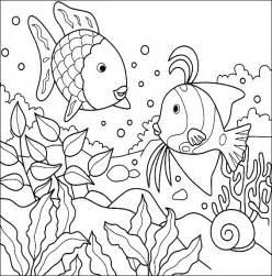 dibujos pintar acuario