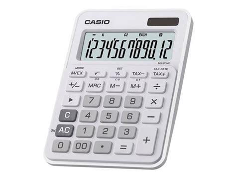 Casio Calculator Js 120tvs Sr casio calculators casio electronic calculator white ms