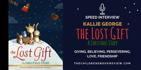 kallie george author of the lost gift a christmas story