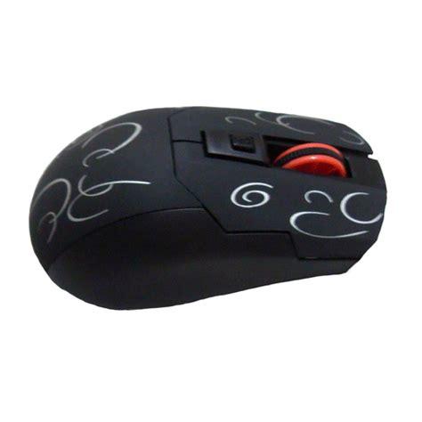 Mouse Wireless Semarang optical mouse wireless 2 4g model t006 black