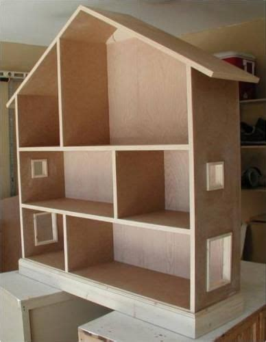 how to make a wooden doll house wooden barbie doll house bing images projects pinterest