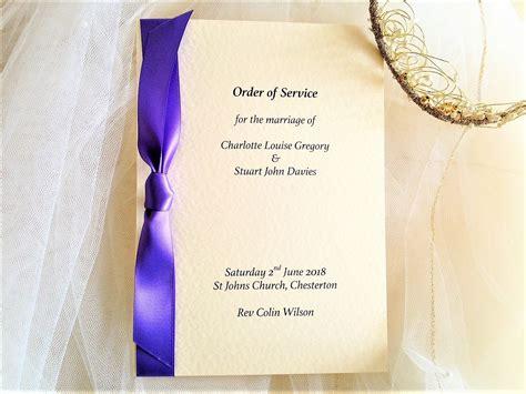 order  service books  weddings wedding order