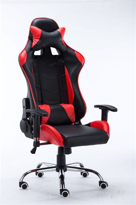 computer chair singapore 4d ergonomic leather high back gaming chair racing style