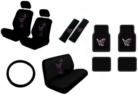 Custom Seat Covers And Floor Mats by Butterfly Suv Car Truck Seat Covers Floor Mats Custom Auto