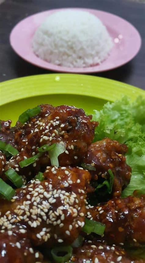 resepi ayam goreng pedas ala korea  buat