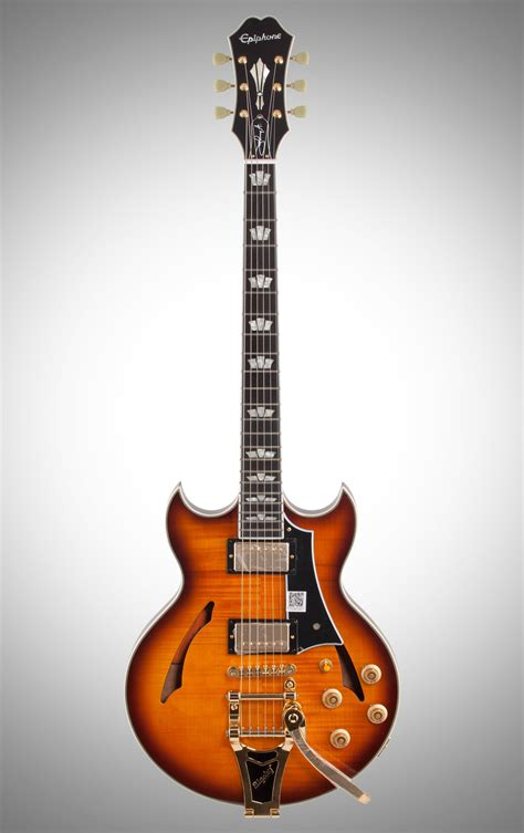 Handcrafted Electric Guitars - epiphone limited edition johnny a custom electric guitar