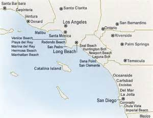 southern california map of beaches southern california hotels map southern california