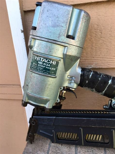 hitachi nra full head construction strip nailer tools
