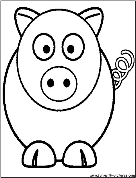 sketches of cartoon animals coloring pages