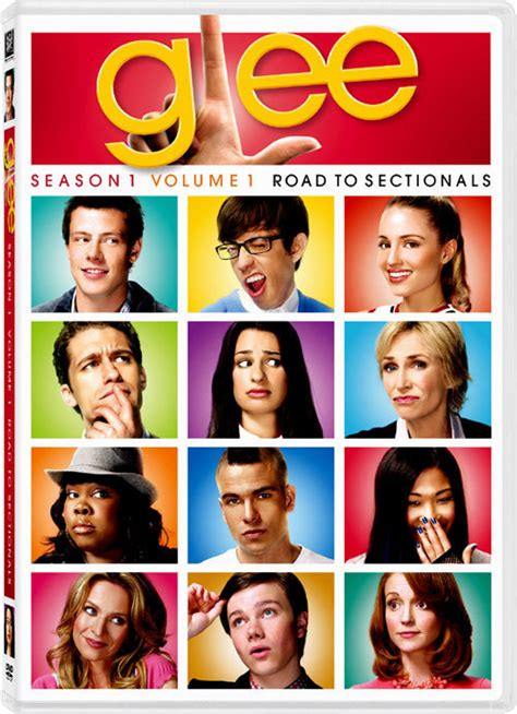 season 3 sectionals glee glee cds y dvds glee season one volume 1 road to