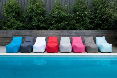 outdoor bean bag furniture glammliving indoor outdoor bean bag furniture modern bean bag chairs melbourne by