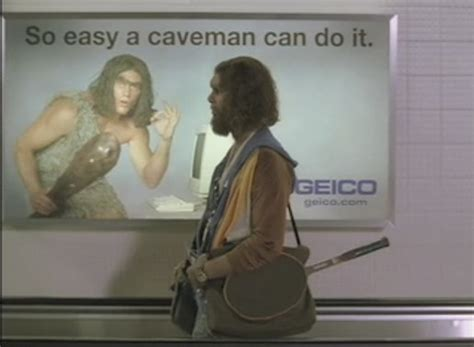 does anyone understand the geico commercial with the two guys pumping iron geico cavemen in tv advertising the inspiration room