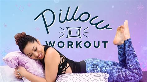 pillow workout for lazy days at home ab exercises