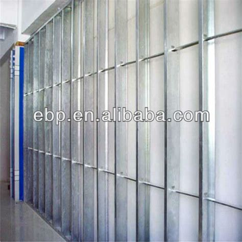 zinc stud for partition c channel metal stud sizes framing