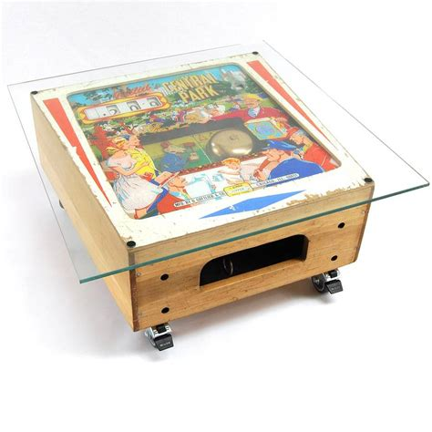 vintage gottlieb pinball coffee table by tilt originals